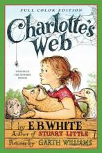 Cover of children's book Charlotte's Web by E.B. White