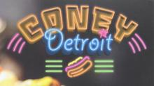 "Photo reading ""Coney Detroit"""