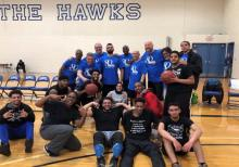 Faculty Student Basketball Fundraiser, April 3, 2019, Henry Ford College photo courtesy Paul Rodgers