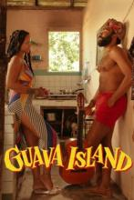Guava Island movie poster with Donald Glover and Rihanna