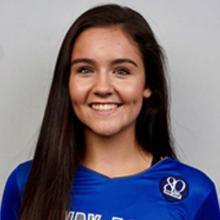 Photo of HFC volleyball player Halee Dorn