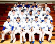 Team photo of Hawks Baseball Team