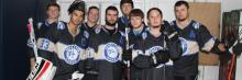 Picture of HFC roller hockey team