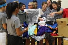 Hawks Athletics Help with Hurricane Relief
