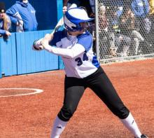 Photo of HFC softball player Jacyln Clark