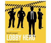 """Poster for """"Lobby Hero"""""""