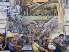 A painting by diego rivera
