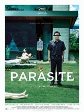 "Promotional poster for film ""Parasite"""