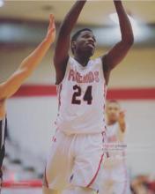Photo of basketball player Josh Mann