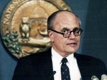 1986 photo of U.S. Representative John Dingell