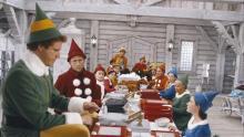 "Scene from ""Elf"" courtesy New Line Cinema"