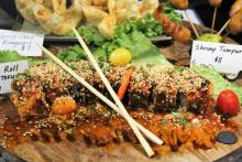 Photo of sushi roll from Bangkok 96
