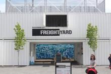 Dequindre Cut Freight Yard