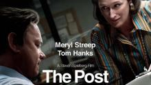 Picture featuring the two main charactersof the movie The Post