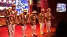 The Ragtime Gals singing on The Tonight Show