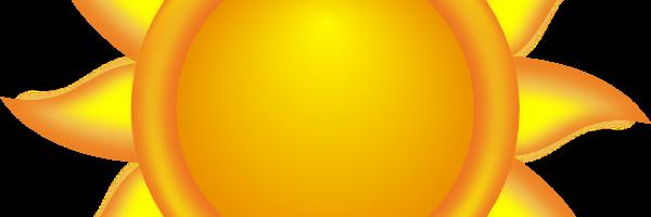 Clip art of the sun