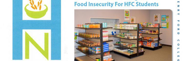 Photo of HFC's Hawk Nest food pantry