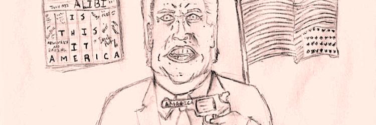 Illustration of Brett Kavanaugh