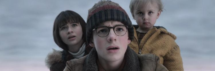 """Image of the three Baudelaire children from """"A Series of Unfortunate Events"""""""