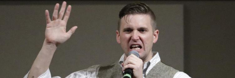 Photo of white nationalist, Richard Spencer.