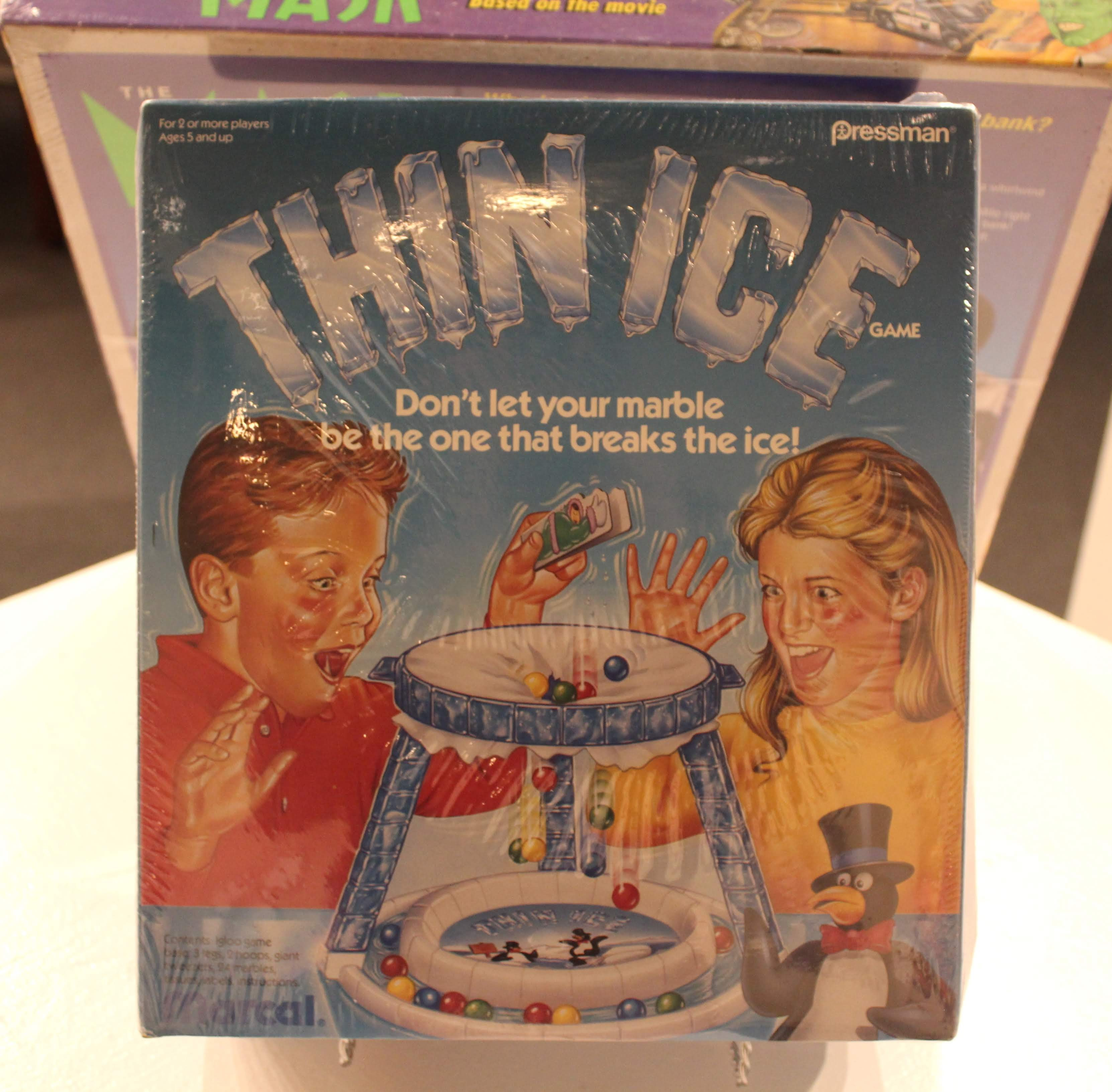 Image of Thin Ice board game artwork