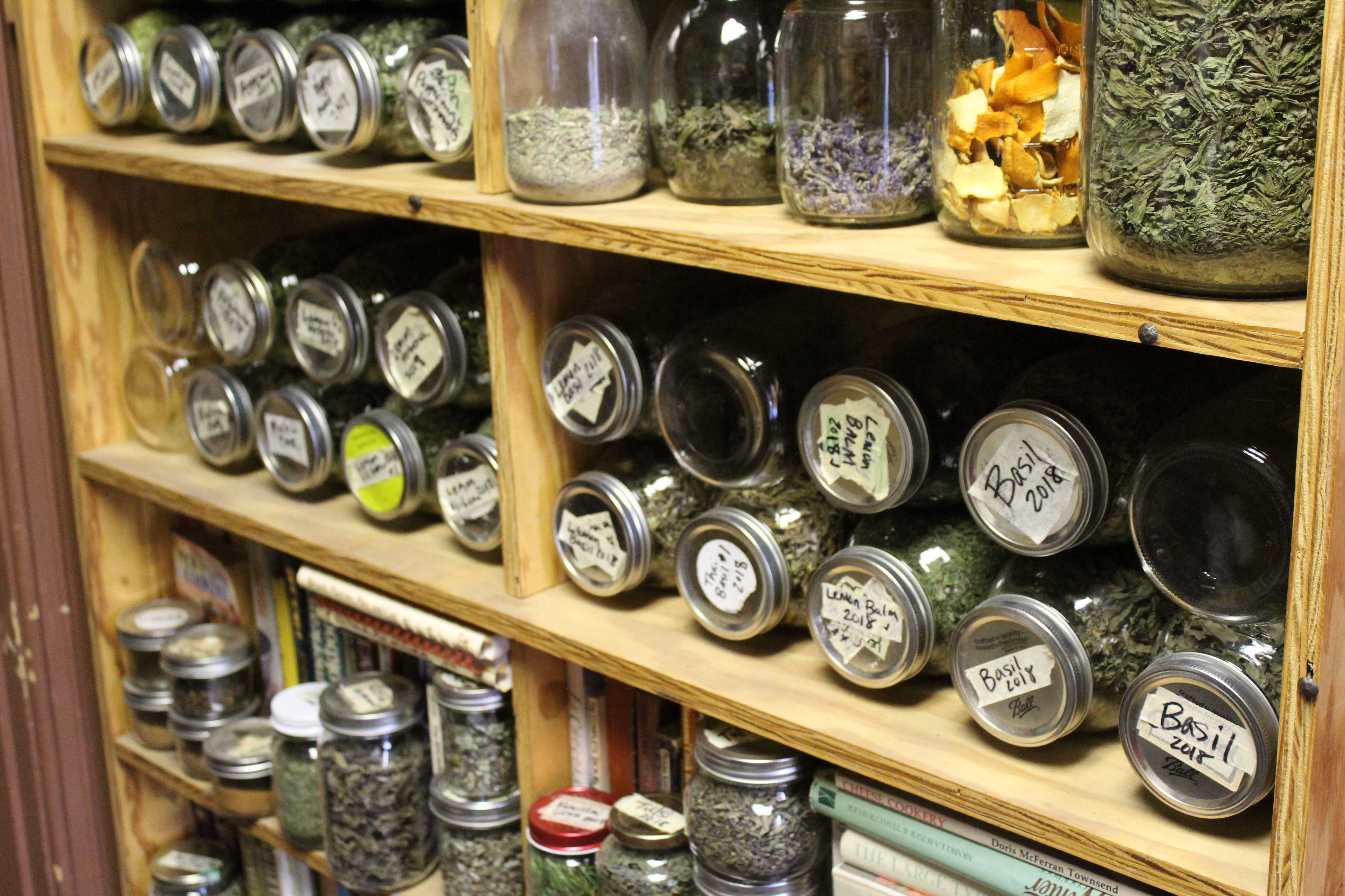 Photo of dried teas by Traffic Jam & Snug
