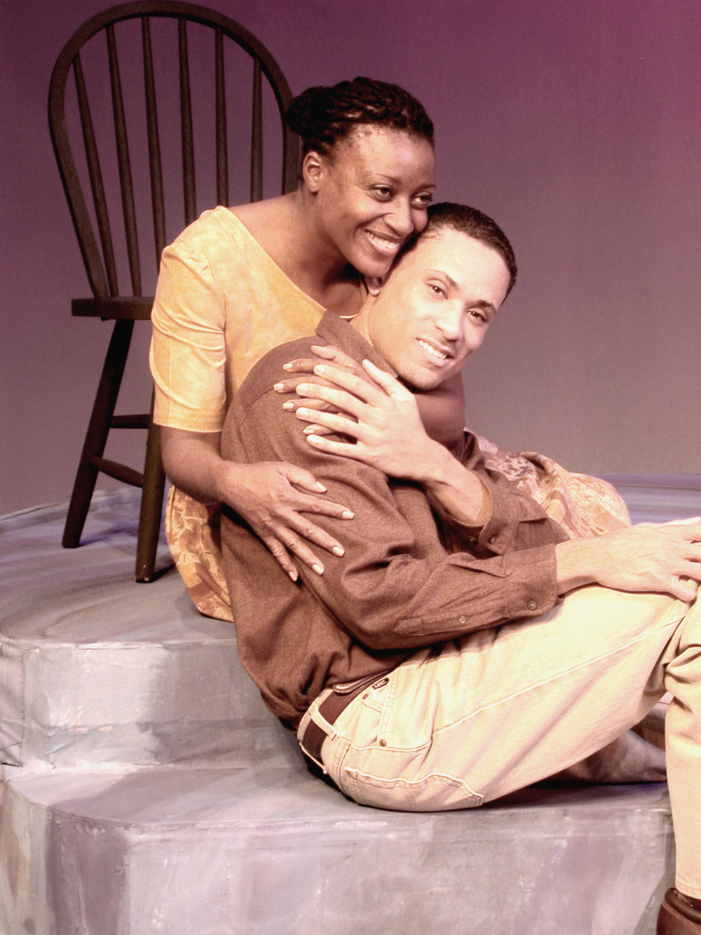 "Scene from ""yellow man"" courtesy Detroit Repertory Theatre"