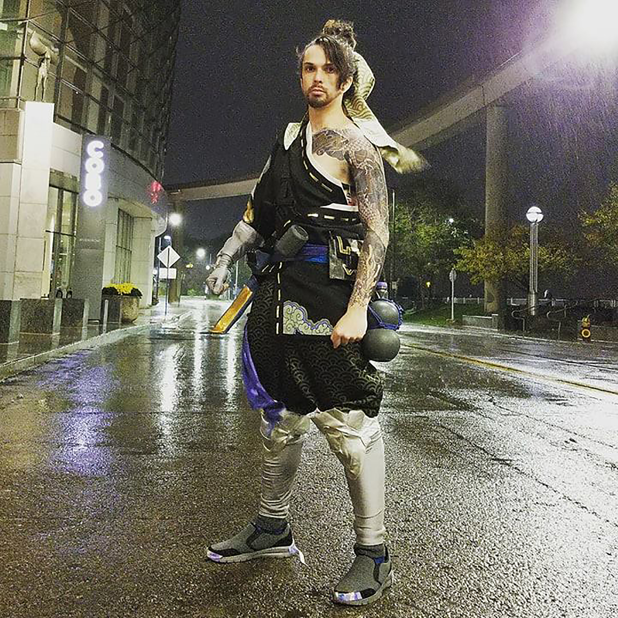 Participant of cosplay at 2017 Youmacon in Detroit